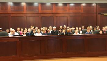 St. Vincent Martyr School's Second Graders Participate in Mock Trial